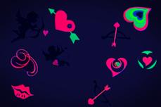 Jolifin Neon Sticker 15