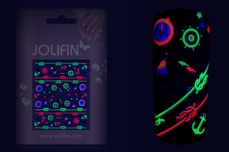 Jolifin Neon Sticker 17