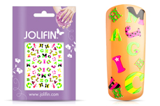 Jolifin Neon Sticker 20