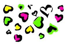 Jolifin Neon Sticker 21