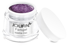 Jolifin Farbgel sparkle lilac 5ml