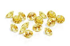 Jolifin Diamonds yellow 2mm