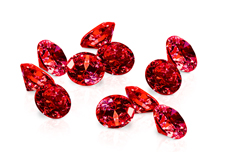 Jolifin Diamonds red 3mm