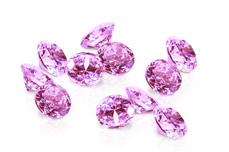 Jolifin Diamonds light pink 3mm