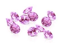 Jolifin Diamonds light pink 3mm