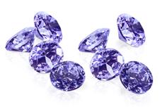Jolifin Diamonds purple 4mm