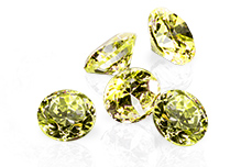 Jolifin Diamonds green 5mm