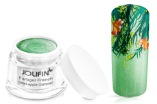 Jolifin Farbgel French pearl-apple Glimmer 5ml