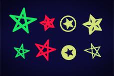 Jolifin Neon Tattoo 3