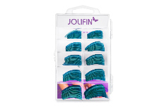 Jolifin 100er Tipbox Diamond Tips clear petrol