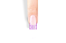 Jolifin 100er Tipbox Diamond Tips clear purple