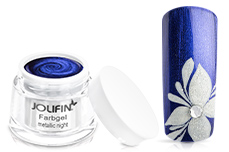 Jolifin Farbgel metallic night 5ml