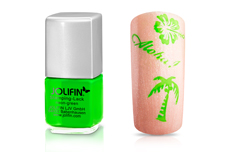 Jolifin Stamping-Lack - neon-green 12ml