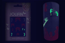 Jolifin Nightshine Halloween Tattoo 1