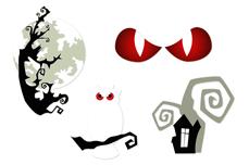 Jolifin Nightshine Halloween Tattoo 4