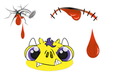 Jolifin Nightshine Halloween Tattoo 7