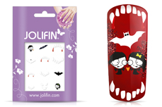 Jolifin Nightshine Halloween Tattoo 10