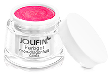 Jolifin Farbgel neon-dragonfruit Glitter 5ml