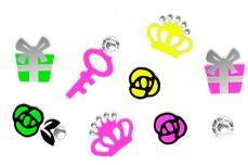 Jolifin Neon Sticker 25