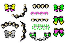 Jolifin Neon Sticker 28