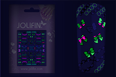 Jolifin Neon Sticker 28