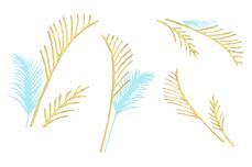 Jolifin Golden Glam Sticker 1