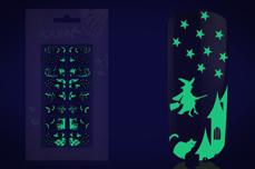 Halloween Fullcover-Sticker Nightshine 1
