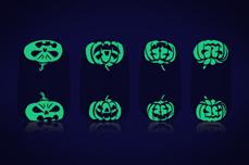 Halloween Fullcover-Sticker Nightshine 4