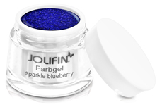 Jolifin Farbgel sparkle blueberry 5ml