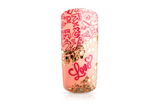 Jolifin Stamping-Lack - strawberry red 12ml