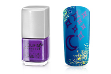 Jolifin Stamping-Lack - berry 12ml