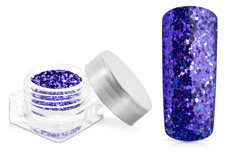 Jolifin Glitterpuder deep purple