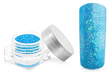 Jolifin Glitterpuder ice blue
