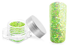 Jolifin Illusion Glitter IV lime