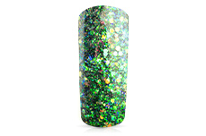 Jolifin Illusion Glitter IV green mermaid