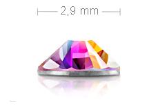 Jolifin Brillant Strasssteine klar irisierend 2,9mm