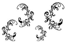 Jolifin Black Elegance Tattoo Nr. 3