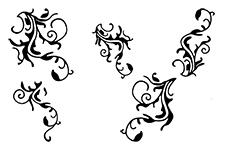 Jolifin Black Elegance Tattoo Nr. 7
