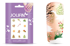 Jolifin Christmas Glitter Tattoo 2