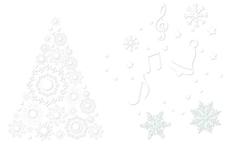 Jolifin Christmas Glitter Tattoo 10