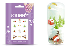 Jolifin Christmas Glitter Tattoo 12