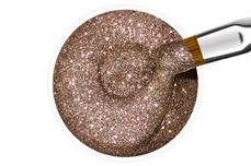 Jolifin Farbgel nougat Glitter 5ml