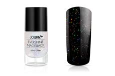 Jolifin EverShine Nagellack silver Glitter 9ml