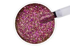 Jolifin EverShine Nagellack gold-pink Glitter 9ml