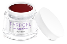Jolifin Farbgel lady red 5ml