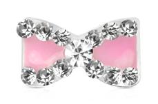 Jolifin Overlay Schleife mini rosa