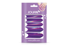 Jolifin Chrome French Sticker purple