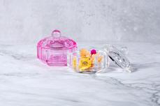 Jolifin Glasbehälter mit Deckel klar