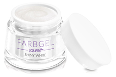 Jolifin Farbgel shiny white 5ml