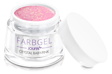 Jolifin Farbgel crystal baby-pink 5ml